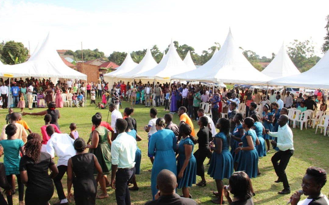 Celebrating God's victory through the Kampala Mission