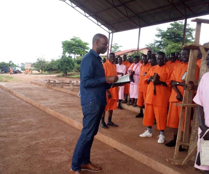 Evangelist Albert's testimony at a Rwandan prison